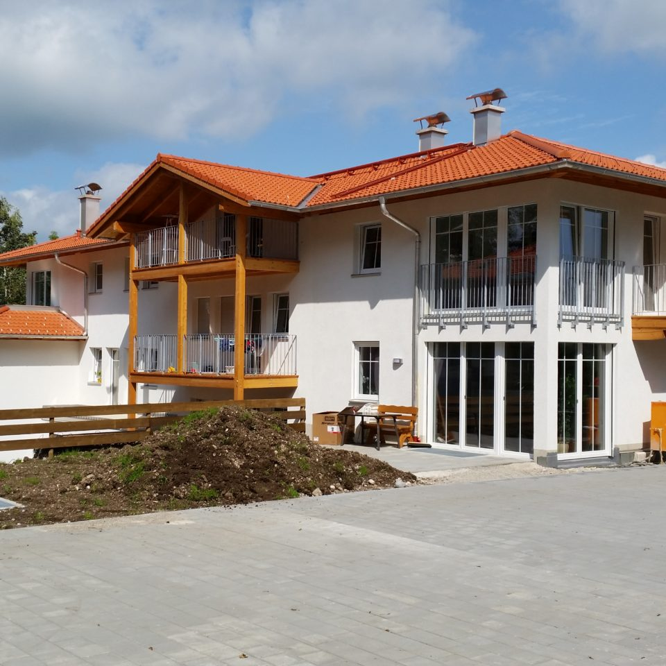 München-Obermenzing-Neubau eines Mehrfamilienhauses